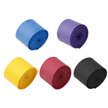 Colorful 1Pc Absorb Sweat Breathable Anti-Slip Racket Bat Overgrip Roll Tennis Badminton Band(China)