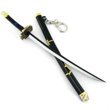 Bleach/One Piece Roronoa Zoro Katana Sword Keychain 22cm