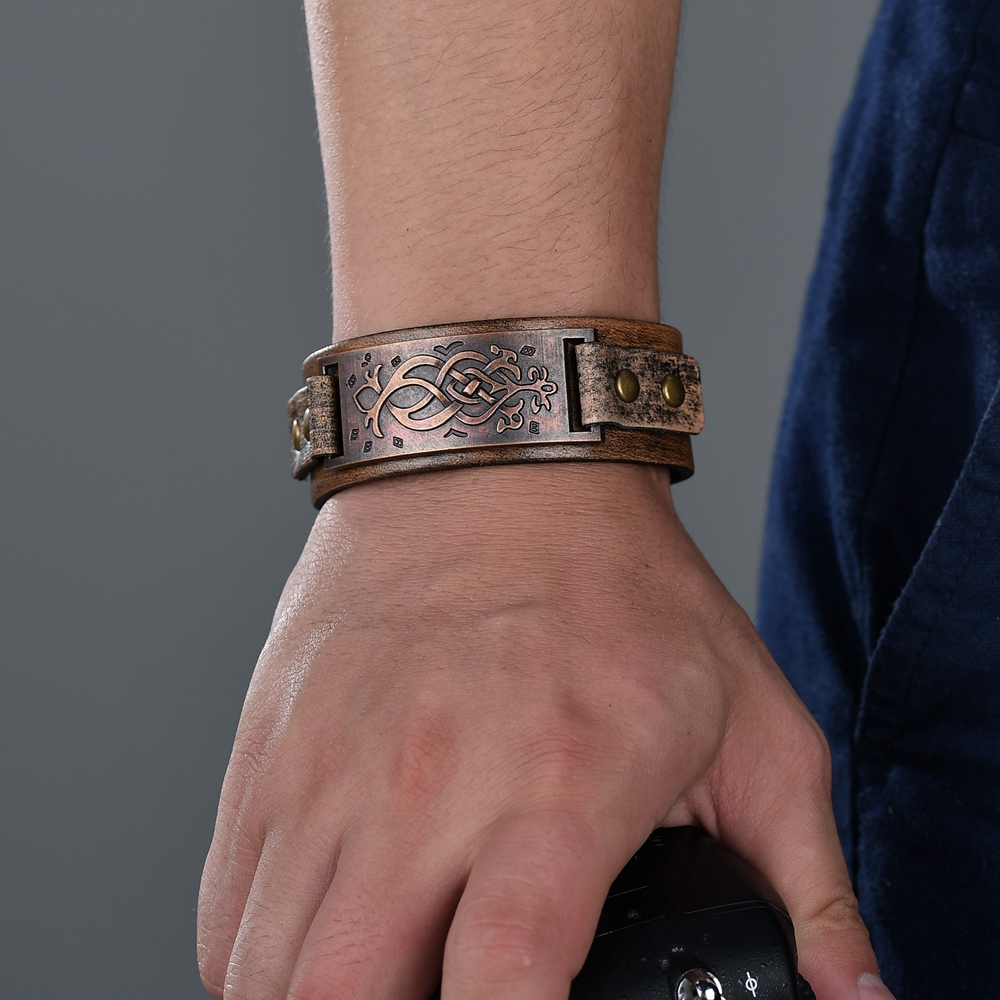 Punk Alloy Bangles Brown...