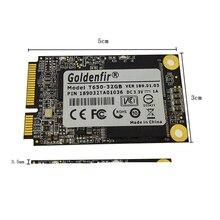Goldenfir msata ssd 32 ГБ 16 ГБ 8 ГБ внутренний твердотельный жесткий диск 16 ГБ 32 ГБ ssd msata
