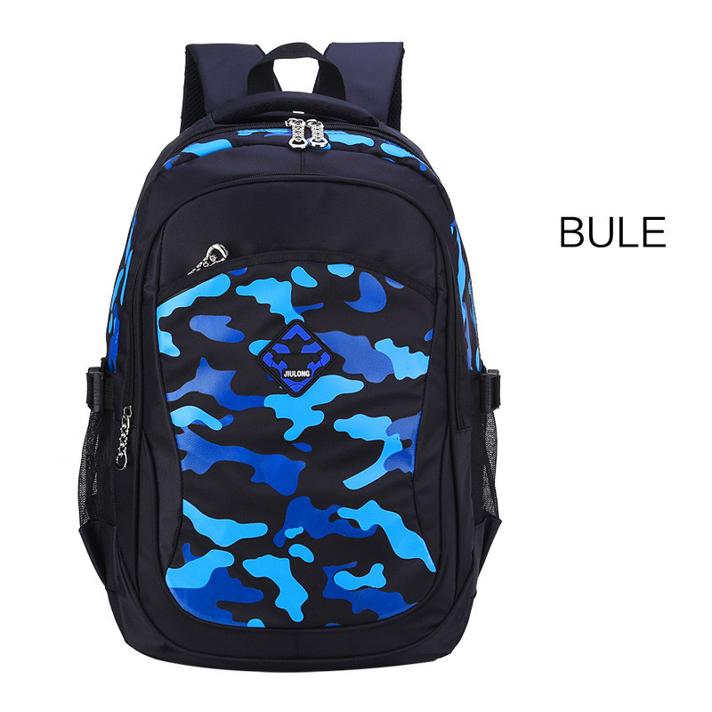women travel backpack portable waterproof sport backpacks children schoolbag orthopedic school bag camouflage kids book bags Q1