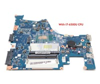 NOKOTION BMWQ1 BMWQ2 NM A482 For Lenovo IdeaPad 300 14 300 14ISK Laptop Motherboard 14 inch SR2EZ I7 6500U CPU GMA HD 520 DDR3L
