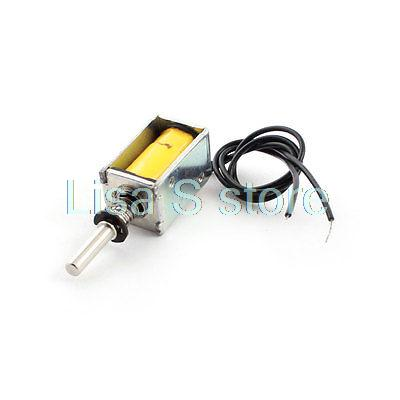 DC 4.5V 40g/2mm Open Frame Actuator Linear Mini Push Pull Solenoid Electromagnet
