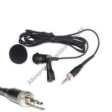 Yeni ME4 Kardioid Lavalier Kravat Klip Yaka Mikrofon Sennheiser EW100 ew300 500 G1 G2 G3 G4 Kablosuz MiCWL Marka