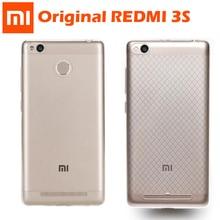 Coque dorigine Xiaomi Redmi 3 S coque arrière ultra mince en silicone transparent TPU Redmi 3 Pro pour étui Xiaomi Redmi 3 S 3 S