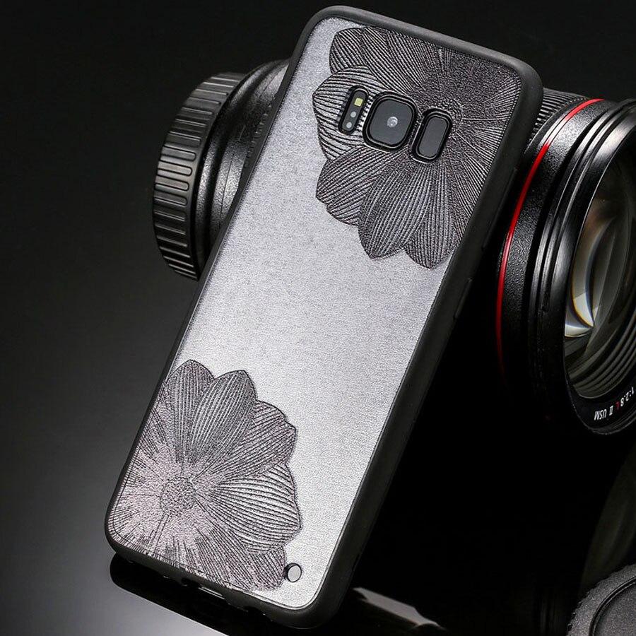 Fashion <font><b>Sexy</b></font> Lace Datura Flower <font><b>Case</b></font> For <font><b>Samsung</b></font> Galaxy S8 Plus S7 S6 edge Cover Beautiful Mandala Paisley Floral <font><b>Phone</b></font> <font><b>Cases</b></font>