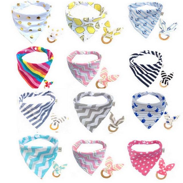 Baby Bandana BibDrool Bib,Blue Navy Hickory Stripes,Purple Denim Solid,Scarf Bib,Baby Bib,Boy,Girl,Super Soft Cotton