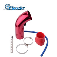 ESPEEDER Universal 3.0 76MM Universal Car Cold Air Intake System Duct Tube Kit Auto Air Intake Tube For SUV Truck Car