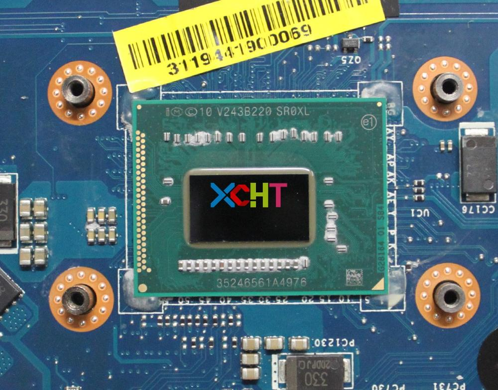 For Dell Inspiron 5721 CN 03WVDR 03WVDR 3WVDR VAW11 LA 9102P W I5 3337u DDR3 Laptop Motherboard Mainboard Tested