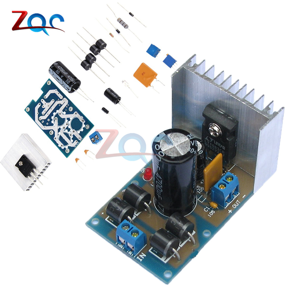 LT1083 Adjustable Regulated Power Supply Module Parts and Components DIY Kit Electronics Diy Kits цена