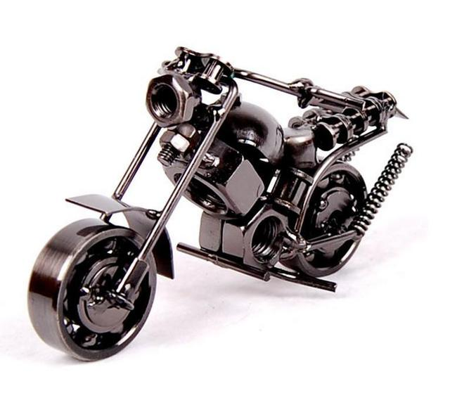 Heavy metal motorcycle motorbike model motor bike bicycle craft silver jpg  640x559 Heavy metal motorcycles 0717136e79f4