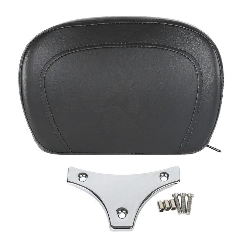 Motorcycle Sissy Bar Backrest Pad & Bracket For Harley Touring FLHX FLHTCU 97-18  Accessories
