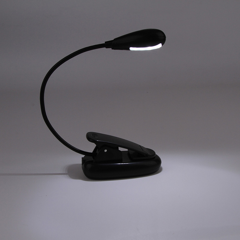 High Quality Useful led stand reading lamp book lamp Clip on LED Lamp and Book Reading Light clip lamp Glow Party Supplies