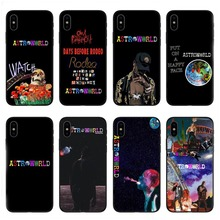 The fashion travis scott world 2019 for iPhone 5 5S SE 6 6S Plus 7 8 X XR XS MAX black soft TPU Silicone cover phone cases