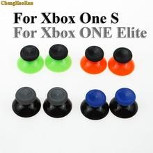 ChengHaoRan חדש 2 PCS עבור Microsoft Xbox אחד X S בקר 3D אנלוגי מקלות אחיזת ג ויסטיק כובע כחול אדום בקר