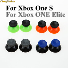ChengHaoRan New 2 PCS for Microsoft Xbox One X S Controller 3D Analog  Sticks Grip Joystick Cap Blue Red Controller