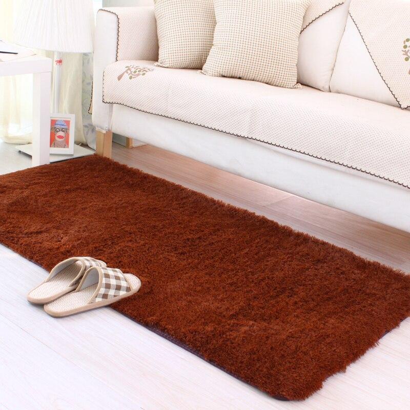 120*170 CM grand salon tapis moderne soyeux/doux/antidérapant livraison gratuite - 2