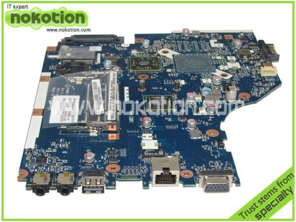 все цены на NOKOTION laptop motherboard for ACER ASPIRE 5253 MBRJY02001 LA-7092P e350 radeon hd 6310m ddr3 Mother Boards free shipping онлайн