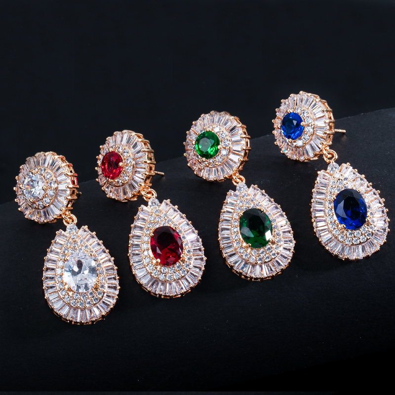 dubai gold earrings 4
