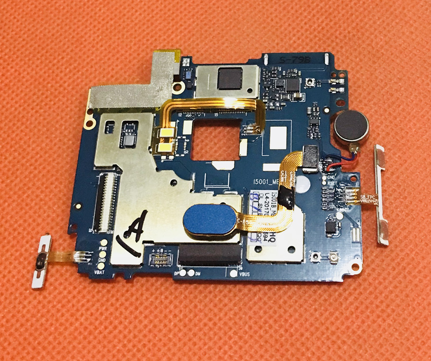 Used Original mainboard 3G RAM+32G ROM Motherboard for Bluboo S8 MTK6750T Octa Core Free shipping