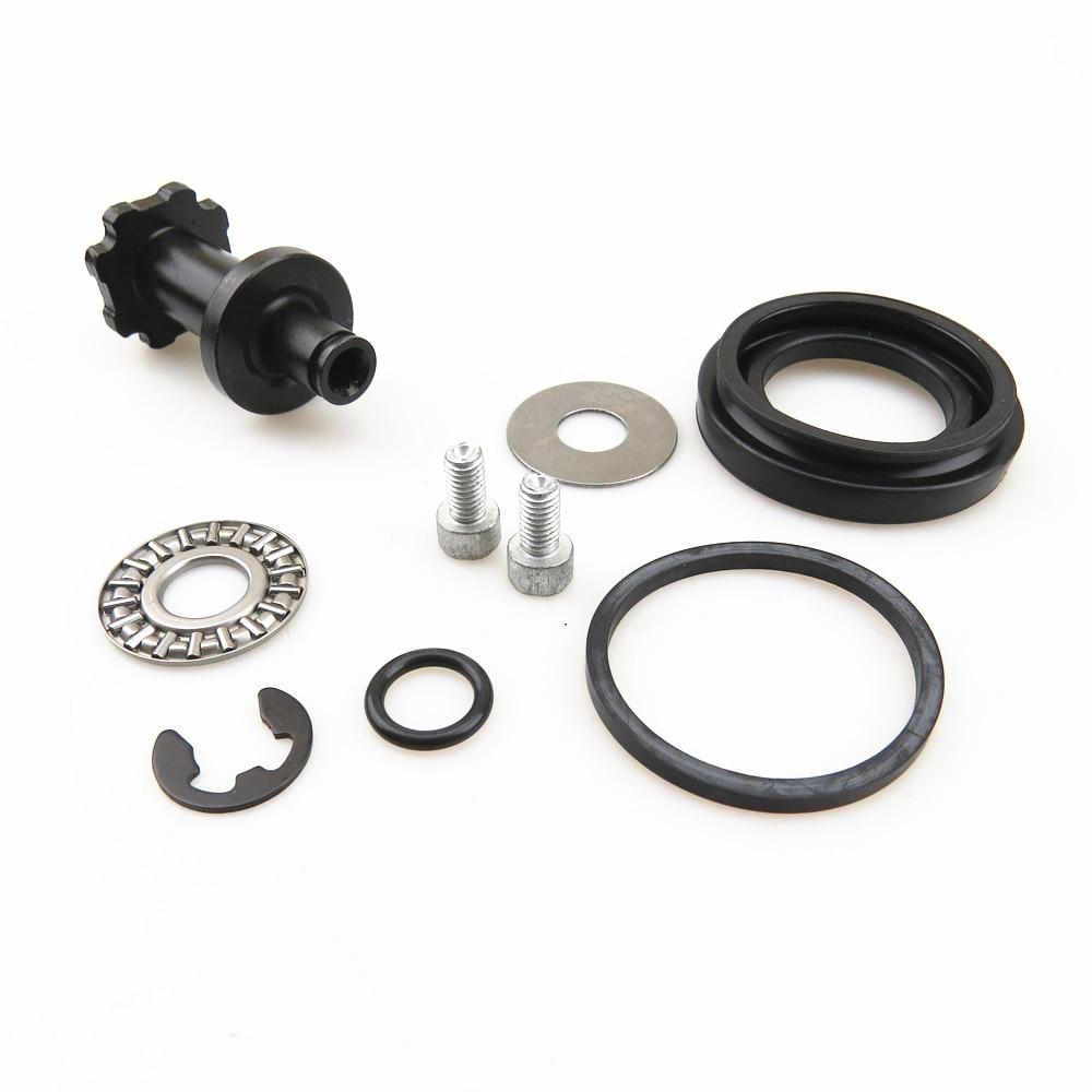 TUKE 1 Kit 6 Teeth Rear Hand Brake Calipers Servo Motor Bearing Screw Washers For VW