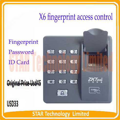 ФОТО Free Shipping Biometric Fingerprint Access Control Machine Scanner Sensor Code System FRID Card Time Attendance RFID Reader