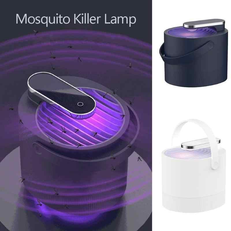 USB Электрический комаров убийца лампа Фотокатализ УФ Ингаляционная лампа вредитель ловушка уничтожитель дома гостиная борьба с вредителями Прямая доставка