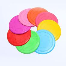 Hot Environmental Protection Silica Gel Soft Pet Flying Discs Dog Toys Saucer Big Or Small Shop Diameter 17.5CM