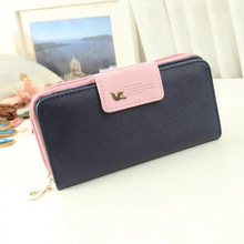 Hot 2018 Fashion Women Wallet Luxury Female Feminina Long Wallets Ladies PU Leather Zipper Purse Card Holders Clutch Money Bag