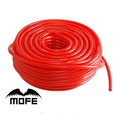 9-15 Mofe 5meter 8mm silicone hose,red vacuum tubing pipe image