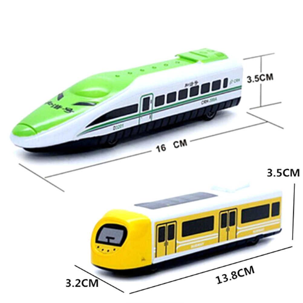 Não brinquedos de controle remoto trem bala brinquedo veículos trem modelo criança crianças aniversário presente de natal tamanho: 16 cm * 3.2 cm * 3.5 cm