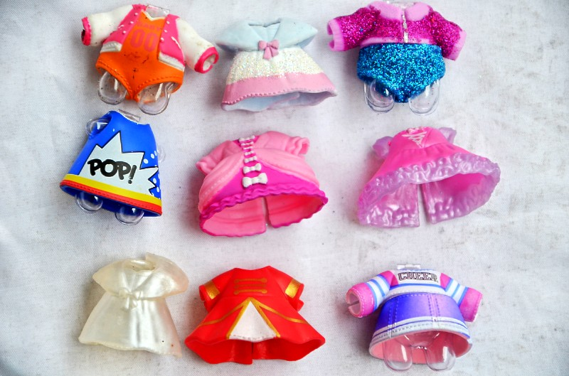 Series 4 LOL Small Accessorries Clothes Mini Cute Doll  Dress On Sale Original Collection Drop Shipping Use For Doll