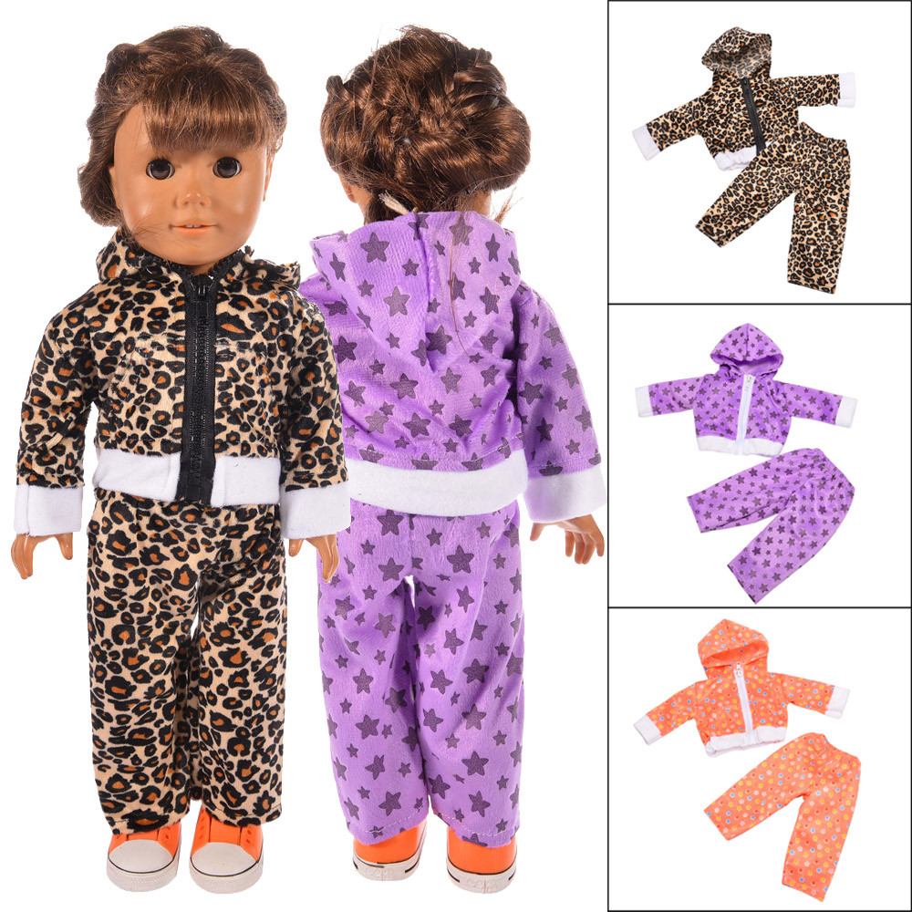 2018 New Pajamas Pajamas Nightgown American Girl Doll Suit Dress for 18inch American Girl Doll Party For American Girl Doll Toys