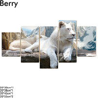 5d Diy Diamond Painting Cross Stitch White Tiger Picture Mosaic Kit Diamond Embroidery Hobbies And Crafts
