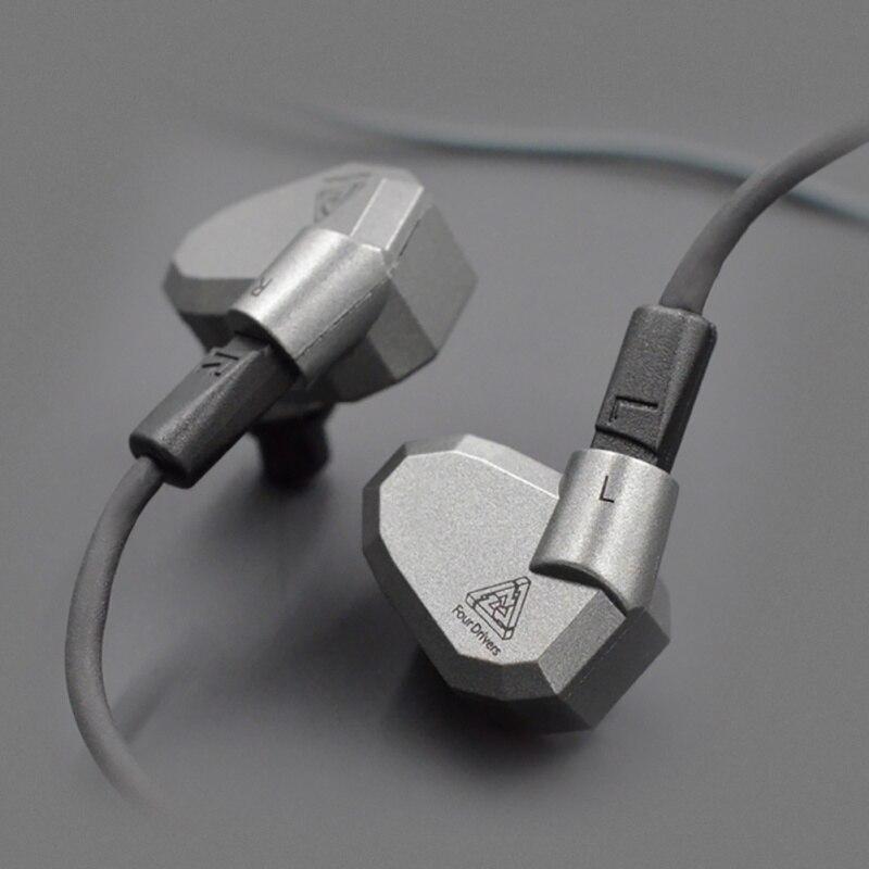 <font><b>KZ</b></font> <font><b>zs5</b></font> король выступление стоимость Quad драйвер Наушники High Fidelity наушники с Съемный кабель для меломанам Бесплатная доставка