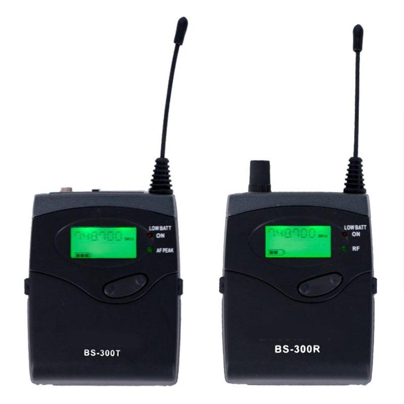 UHF 771 мГц 740,1 беспроводной микрофон гарнитуры аудио Руководство системы professional камера интервью внешний запись петличный карман
