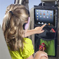 Atualização auto car back seat organizador titular multi-bolso pendurado saco de armazenamento de viagem para ipad 2/3/4/air pro
