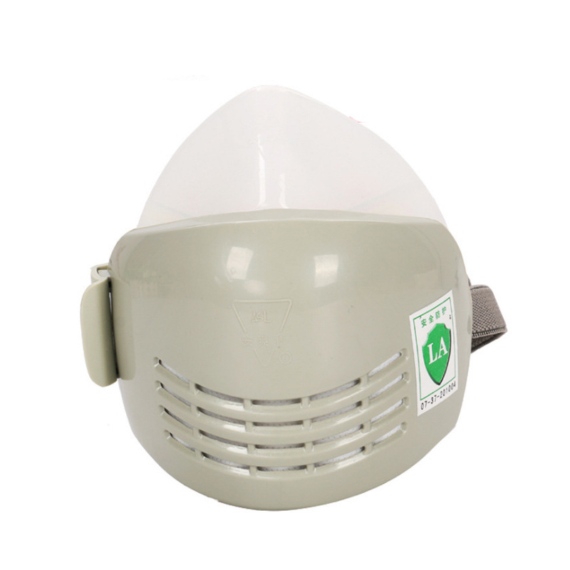 Dust Mask Silica Gel Anti Industrial Construction N95 Mask Anti-dust Pollen Haze Poison for Mine, Polished, Decoration недорого