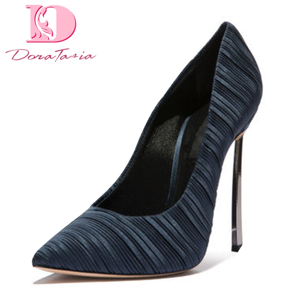 DoraTasia 2018 large size 33-45 sexy Spring autumn pumps woman shoes thin high heels pointed toe party Shoes Woman pumps doratasia brand new large size 33 43 fashion pointed toe thin high heels women party sexy pumps woman ceremony office lady