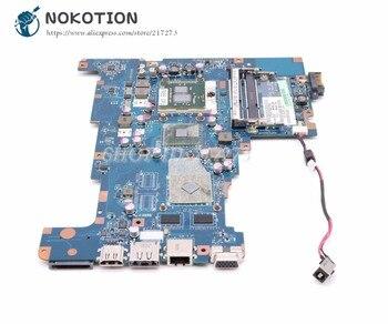 NOKOTION لتوشيبا L670 L675 اللوحة المحمول NALAA LA-6042P K000103810 K000103830 HM55 DDR3 HD4500 شحن وحدة المعالجة المركزية