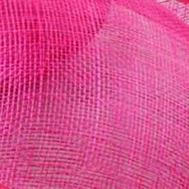Элегантные шляпки из соломки синамей с вуалеткой хорошие Свадебные шляпы высокого качества женские коктейльные шляпы очень красивые несколько цветов MSF104 - Цвет: Розово-красный