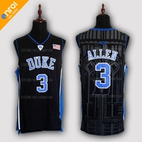 Cheap Grayson Allen Basketball Jerseys 3 Duke University Blue Devils Throwback High Quality Retro Stitched Embroidery
