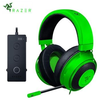 Razer Kraken Gaming Headset Accessories All Computers & Accessories Computer Accessories Computers & Accessories Headphone Accessories Headphones Headphones Laptop Accessories color: BLACK|Green