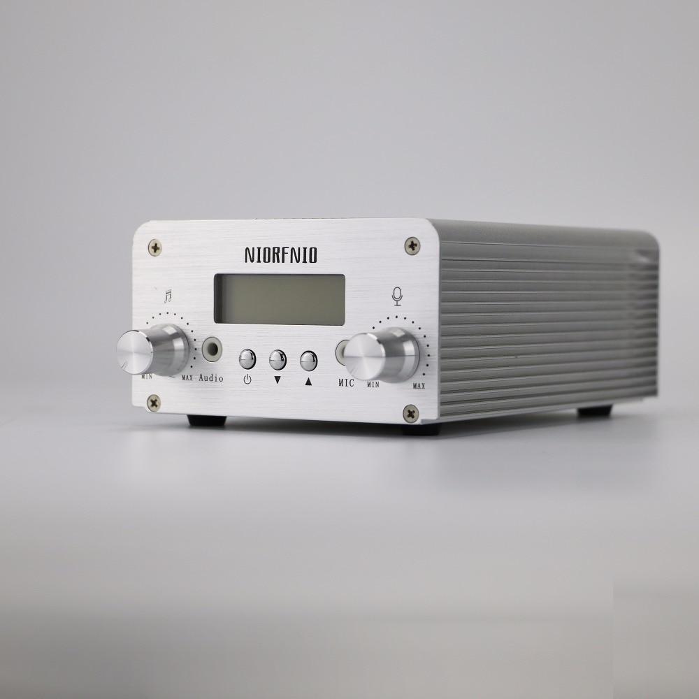 Factory Price NIORFNIO 5W/15W Transmitter FM PLL Host With PC Control Bluetooth 87-108MHZ professional 87 108mhz dsp