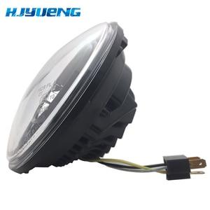 Image 5 - 2pcs Per Wrangler JK 2 Porta 2 Hummer H1 H2 7 pollici Fari A LED Per Lada 4x4 urbano Niva 2007 ~ 2016 Per Suzuki Samurai