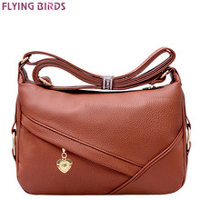 FLYING BIRDS 2016 new women handbag for women messenger bags leather handbags purse women's pouch bolsas female bag LM3927fb