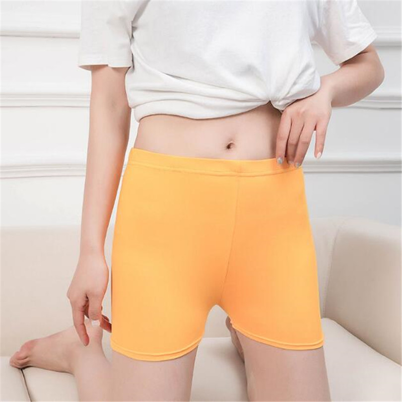 VISNXGI Women Shorts Summer Sports Ladies Breathable Elastic Waist Short Candy Colors Casual Fitness Workout Skinny 2021 Short