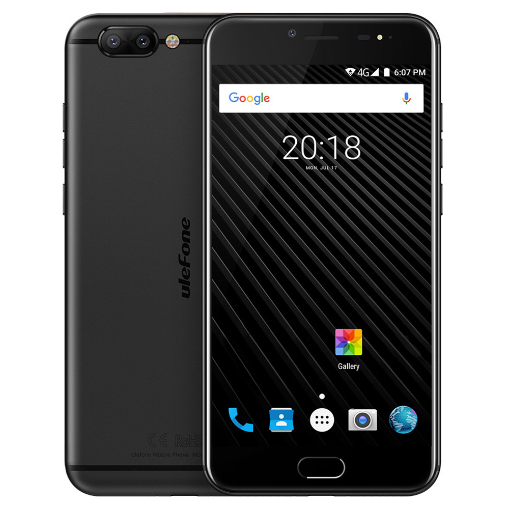 Original Ulefone T1 5 5 FHD 6GB 64GB 4G Smartphone Dual Rear Camera Android 7 0