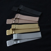 18mm 20mm Milanese mesh Watchband for DW (waterproof) Men Women Watch Band Stainless Steel Strap Bracelet with Tool Spring Bar