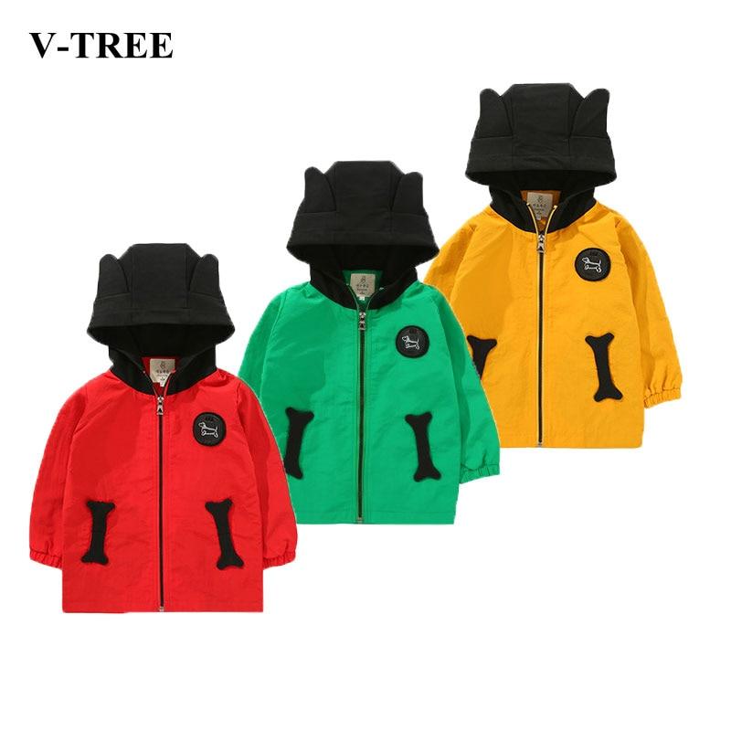 где купить Spring Children Coat Autumn Kids Jacket Boys Outerwear Coats 2-8T Children Windbreaker Baby Clothes Toddler Clothing по лучшей цене